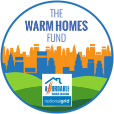 The warm homes fund logo